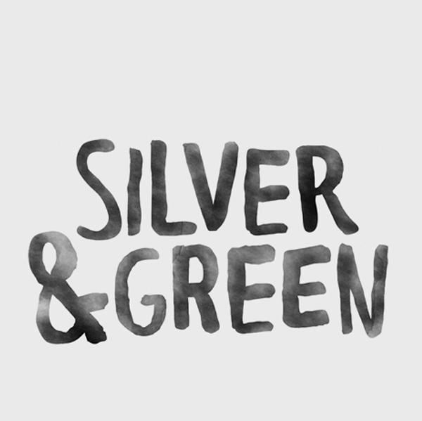 Silver & Green